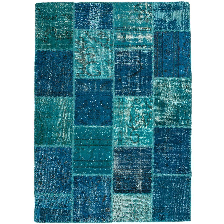 dywan_patchwork_obsession_spirit_welna_spi_550_turquoise_witek_pl