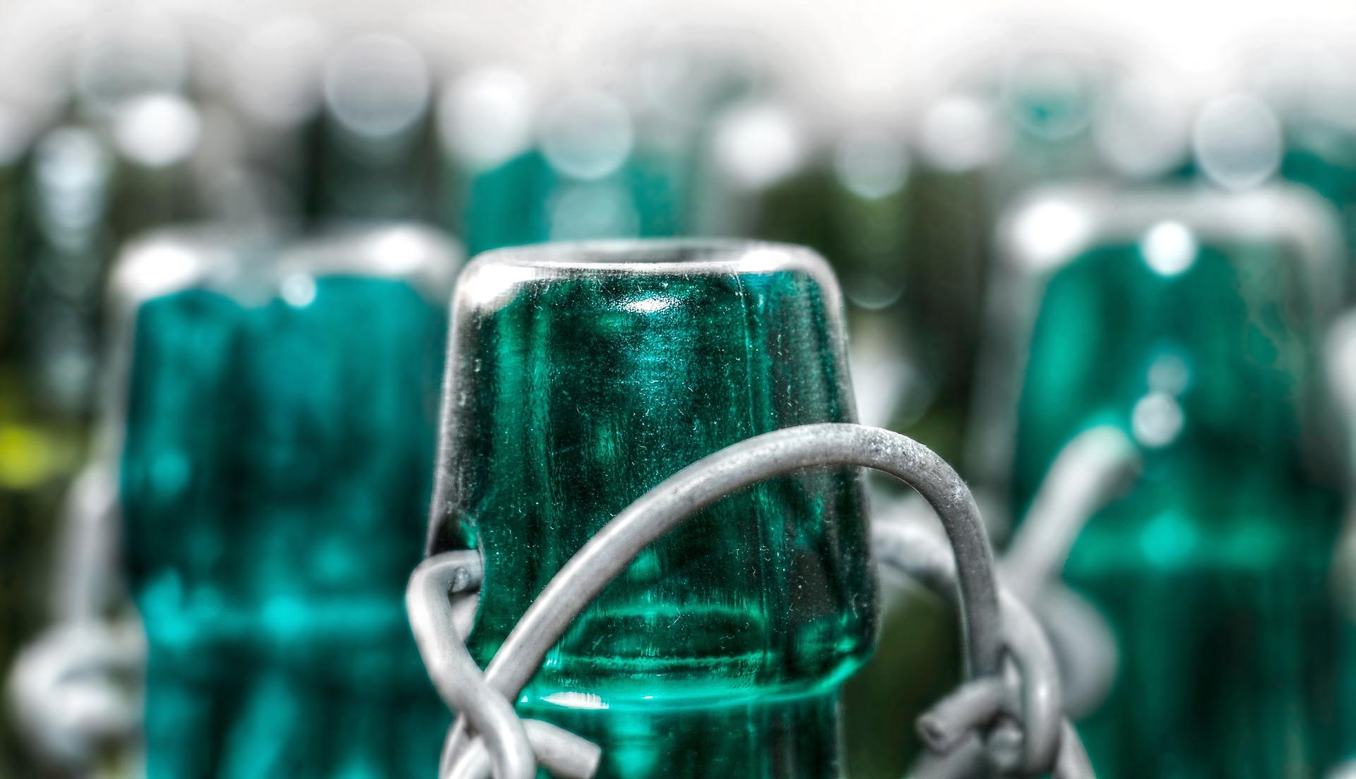 Zielona butelka